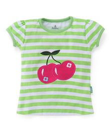 Child World Short Sleeves Top Printed - Green