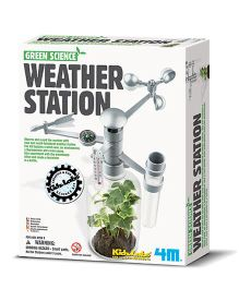 4M Green Science Weather Station - White