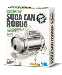 4M Soda Can Robug - White