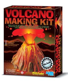 4M Volcano Making Kit - Brown