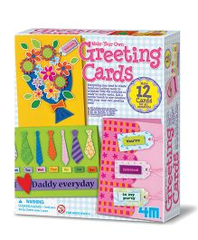 4M Make Your Own Greeting Cards Kit - Pink
