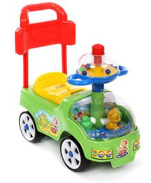 Play Toons Funny Rider  - Green Multicolor