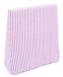 Babyoye Stripe Wedge Pillow - Pink