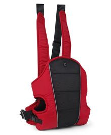 Tollyjoy 3 In 1 Baby Carrier - Black & Red