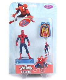 Marvel Spider-Man Figurine With Key Chain - Height 13 cm