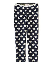 Weedots Full Length Leggings - Navy