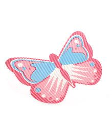 Butterfly Shaped EVA Table Mat - Blue Pink