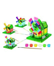 SmartCraft Innonex Action Windmill - Multicolor