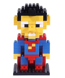 Smartcraft Loz Nano Block Superhero Superman Kit - Blue