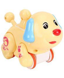 SmartCraft Press And Go Funny Dog - Cream