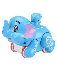SmartCraft Press And Go Funny Elephant - Blue