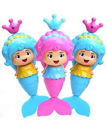 Smartcraft Lovely Mermaid Bath Toy - Pink And Blue
