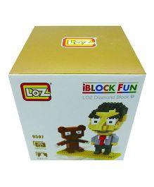 Smartcraft Loz Mr.Bean Block Kit Multi Color - 340 Pieces