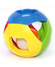 Smartcraft Intellectual Bell Ball Rattle - Multi Color