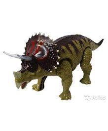 Smartcraft Jurassic Three Horn Dianosaur - Green