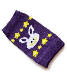 Milonee Rabbit Print Knee Protector - Purple