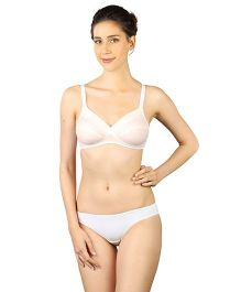 Triumph Non-Padded Non-Wired Maternity Bra - White