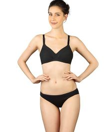 Triumph Non-Padded Non-Wired Maternity Bra - Black