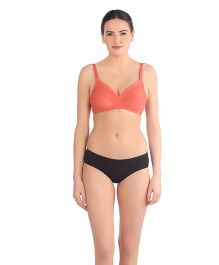 Triumph Non-Padded Non-Wired Maternity Bra - Peach