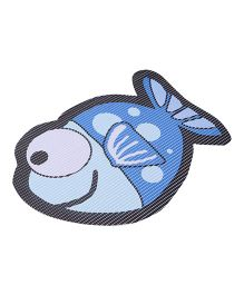 Fish Shaped EVA Table Mat - Blue