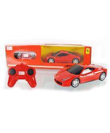 Rastar Remote Control Car Ferrari 458 Italia - Red