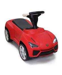 Rastar Lamborghini Urus Manual Push Car Ride On - Red