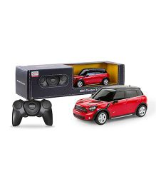 Rastar Mini Countryman Remote Control Car - Red Black