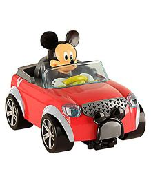 IMC  Disney City Fun Remote Control Car Mickey - Red
