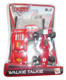 IMC  Disney Cars Walkie Talkie - Red
