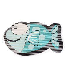Fish Shaped EVA Table Mat - Green