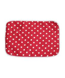 Kadambaby Diaper Changing Mat - Red White