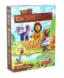 Doy Soaps The Jungle Tales Bath Buddies With Story Book Pack Of 4