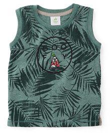 Disney Baby Sleeveless T-Shirt Goofy Print - Green