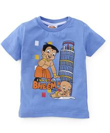 Chhota Bheem Half Sleeves T-Shirt - Blue