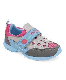 Footfun Sneakers - Grey And Blue