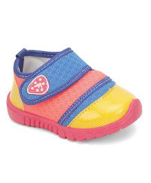 Footfun Casual Shoes With Velcro Closure - Royal Blue