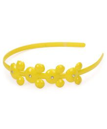 Disney Minnie Mouse Design Hair Band - Yellow