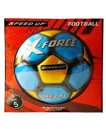 Speed Up Football Force Metal (Colors May Vary)