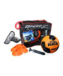 Speed Up Luxury 5 Piece Football Set - Orange