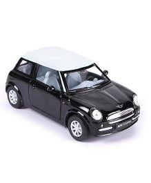 Kinsmart Mini Cooper Diecast Car Toy - Black & White