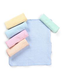 Babyhug Napkin Pack Of 6 - Multi Color