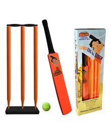 Chhota Bheem Cricket Set - Orange