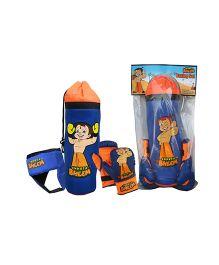 Chhota Bheem Boxing Set Blue Orange - 3 Pieces