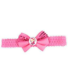 Stol'n Headband Bow Applique - Pink