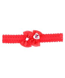 Stol'n Headband Bow Design Barbie Theme - Red