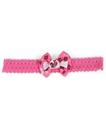 Stol'n Headband Barbie Motif - Dark Pink