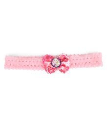 Stol'n Headband Floral Print With Barbie Motif - Pink