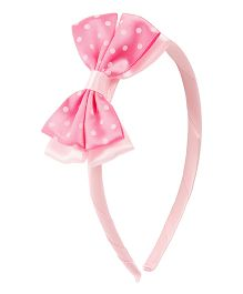 NeedyBee Hairband With Flower - Pink