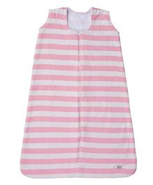 Pluchi Stripes Sleeping Bag - Pink