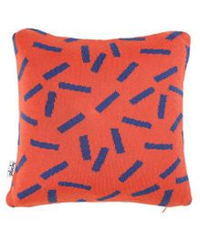 Pluchi Dominos Applique Baby Pillow - Red